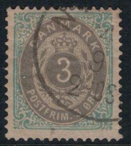 Denmark #25  CV $15.00