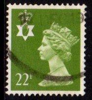 Northern Ireland - #NIMH41 Machin Queen Elizabeth II - Used