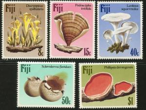 FIJI Sc#500-504 1984 Fungi Complete Set Mint OG NH