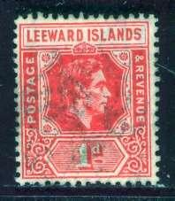 Leeward Islands; 1938: Sc. # 105; */MH Single Stamp