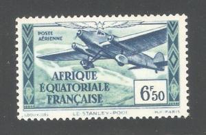 French Equatorial Africa 1937,Air Post 6.50fr,Sc C6,VF MNH**OG (K-8)