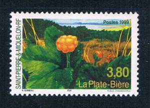 St Pierre and Miquelon 678 MNH Flower 1999 (S0959)