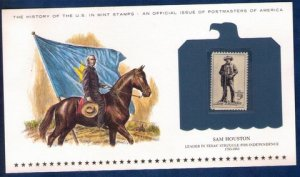 US Sc 1242  MNH,Og Encapsulated On A Commemorative Postal History Card VF