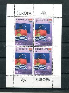Kiribati  2006  Europa mini sheet .  Mint VF NH