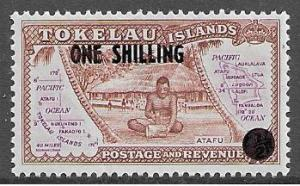 Tokelau Islands 5 Scotts MLH overprint