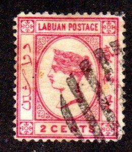 LABUAN 33 USED SCV $4.25 BIN $1.70 ROYALTY
