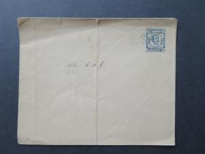 Montenegro 1893 10H Postal Stationery Canceled / Light Curling - Z7805