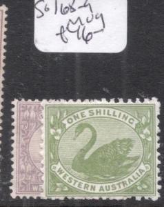 Western Australia SG 168-9 MOG (3djy)