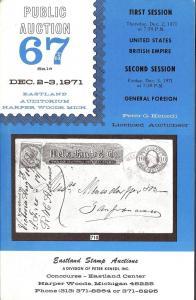 Kenedi: Sale # 67  -  United States, British Empire, Gene...