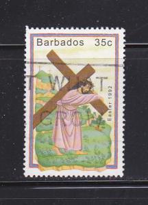 Barbados 818 U Easter (A)