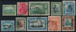 Jamaica #88-97  CV $9.35