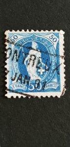 Switzerland #86 Used CV 25
