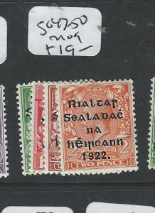 IRELAND (PP0808B) ON GB KGV SG47-50     MOG