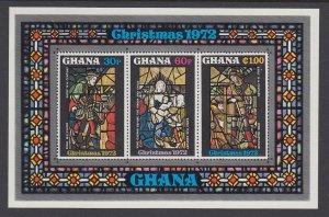 Ghana 471a Christmas Souvenir Sheet MNH VF