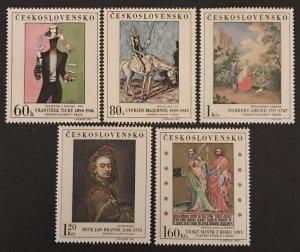 Czechoslovakia 1967 #1507-11, MNH, CV $5.60