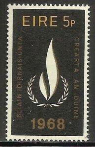 Ireland 1968 Scott# 266 MNH (gum disturbance)