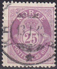 Norway #87 F-VF Used  (K2836)