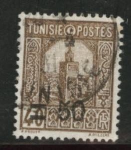Tunis Tunisia Scott 121 used 1930 surcharged stamp