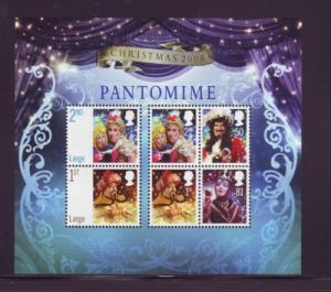Great Britain Sc 2607 2008 Christmas stamp sheet mint NH