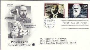 1996, Pioneers of Communication-Ives, Muybridge,PCS, FDC (D15572)