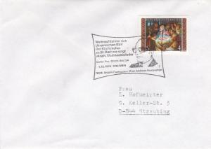 Austria 1979 Christmas Ukranian Stamp Club in Austria Cover VGC