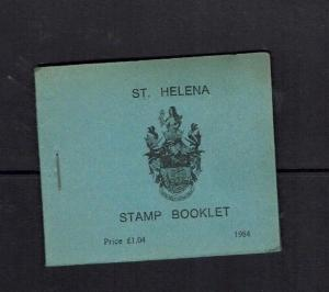 St Helena: 1984 Stamp Booklet, £1.04 face, Stamp Centenary issue, MNH