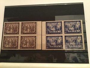Germany 1948 Leipzig Autumn Fair  mint never hinged stamps blocks   R22460