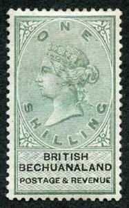 Bechuanaland SG15 1/- Green and Black M/M