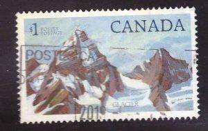 Canada Scott 932 Used Glacier National Park stamp