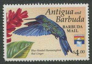 STAMP STATION PERTH Barbuda #1359 Overprint Birds Issue MNH 1993 CV$15.00
