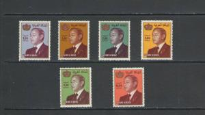 MOROCCO: Sc. 520-24A /**1981-KING HASSAN II**/ Partial Set of 6 / MNH.