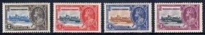 Trinidad and Tobago - Scott #43-46 - MH - Gum toning - SCV $12