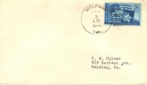 United States Texas Welfare 1948 4f-bar  1882-1960  Philatelic.