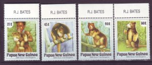 J21891 Jlstamp 1994 png set mnh #819-22 animals