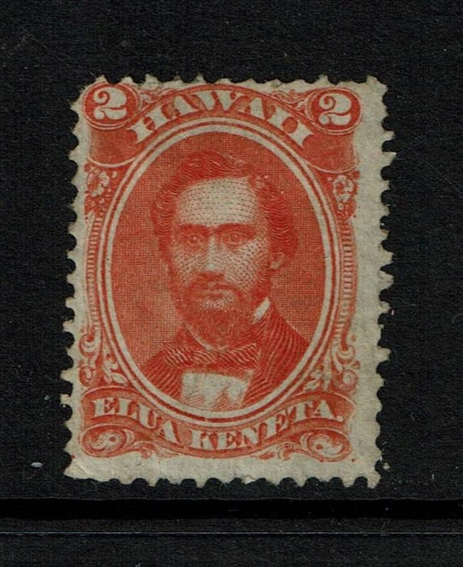 Hawaii SC# 31, Mint No Gum, Hinge Remnant - S269