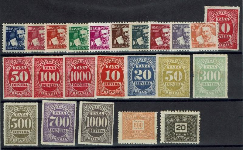Brazil 23 Mint Back of Book Issues, Few Faults (few No Gum) - C558