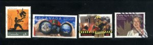 Canada #1984-87  -3   used VF 2003 PD