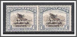Kenya Uganda Tanganyika #89 South Africa Overprinted MHR