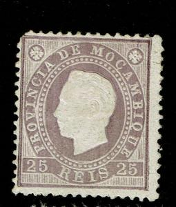 Mozambique SC# 18, Mint Hinged, Hinge Remnants, see notes - S8309