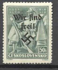 Sudetenland, Rumburg 1938  Mi. # 49 Doss Alto MLH