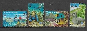 Pitcairn Is  492 - 495  (SG 539/42) Oceans - MNH - VF - CV$13.68