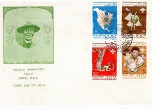 Anguilla 1968 Sc 40-3 MNH Commemorative Perforate