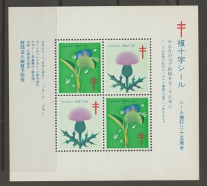 Japan Cinderella seal TB Charity revenue stamp 5-03-23 mint