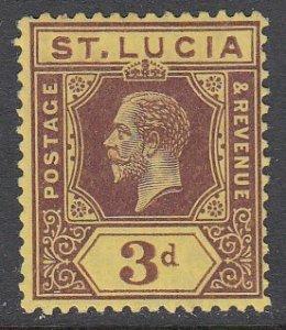 St. Lucia 84 MH CV $3.75