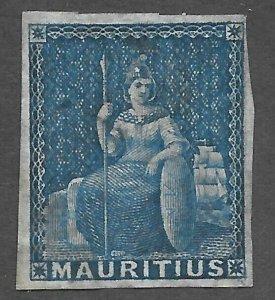 Mauritius (1849) - Scott # 8,   MH
