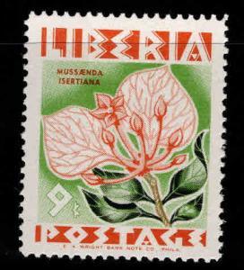 LIBERIA Scott 353 MH* flower stamp