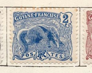 French Guiana 1904 Early Issue Fine Mint Hinged 2c. 135923