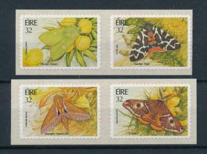 [98632] Ireland 1994 Insects Butterflies Self adh. Stamps MNH