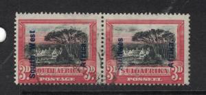 South West Africa SG 50 VFU (10dwc)