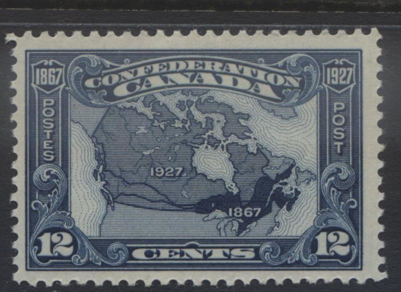 Canada - Scott 145 - Map of Canada -1927 - MLH - Single 12c Stamp